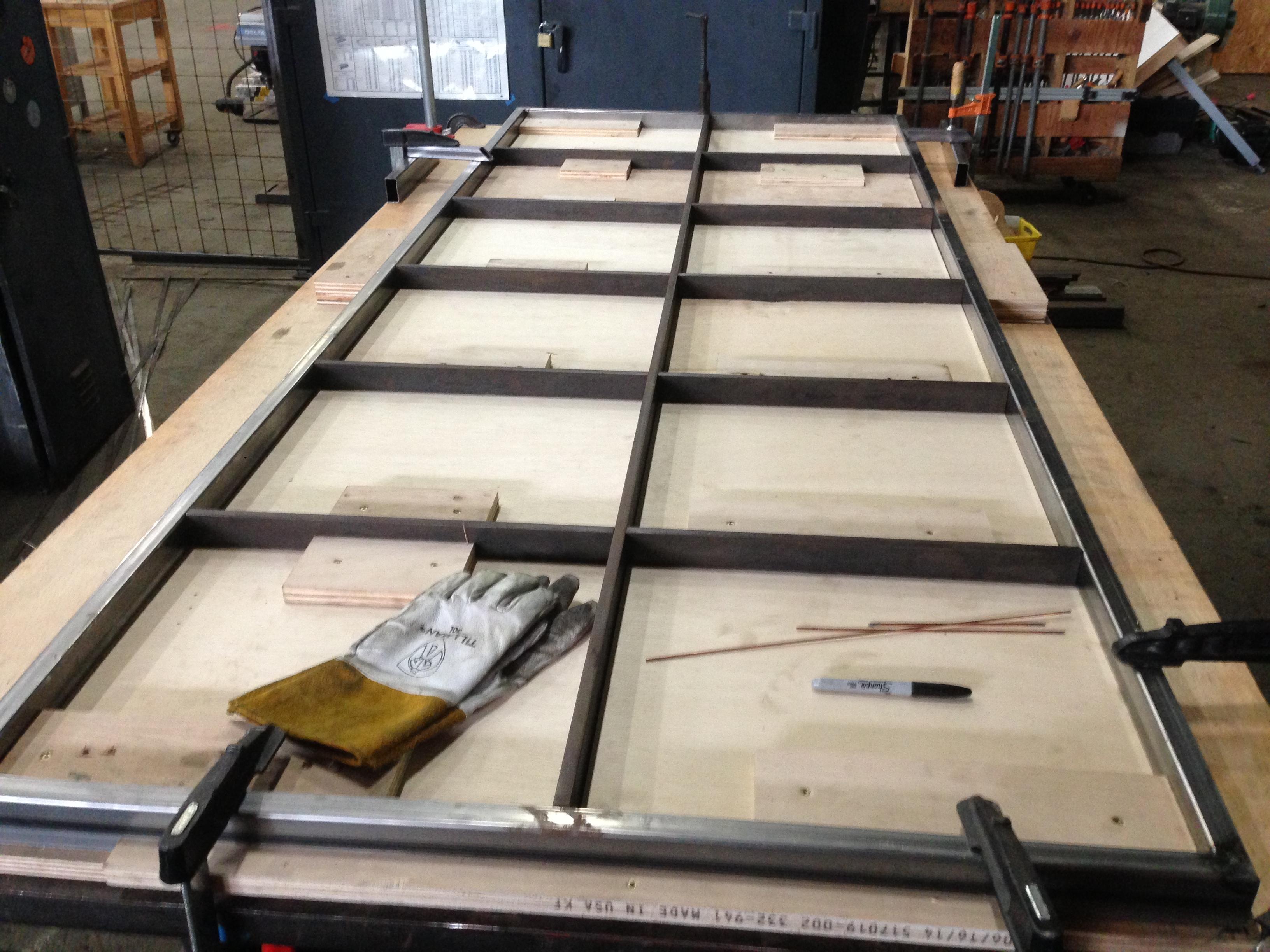 Steel And Glass Doors Lambert Holmes Design